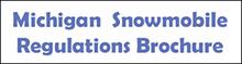 Michigan Snowmobile Brochure 220px