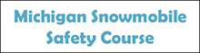 Michigan snowmobile safety course 220px wide